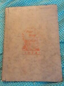 1924 MEDFORD  HIGH SCHOOL YEARBOOK  MEDFORD, WISCONSIN  POW WOW