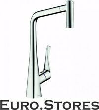 Hansgrohe Metris 14820000 Single Lever Kitchen Mixer With Pull-Out Spray New