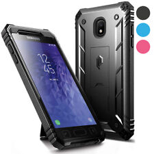 Galaxy J3 /J7 Case,Poetic [w/Kick-stand] Armor Heavy Duty Shockproof Cover