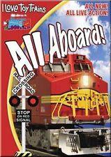 I Love Toy Trains All Aboard! DVD model railroads kids