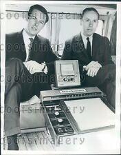 1967 ABC News Correspondent Peter Jennings & Dr Stephen Ayers  Press Photo