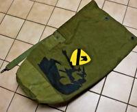 Vintage Militaria 1st Cavalry Bag Trench Art Sack Bag Hand Made Olive 1 CAV