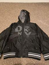 Boys Black DKNY Coat Age 5