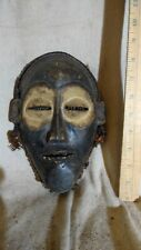 Chokwe Mask with Woven Headdress — Great Details — Authentic Carved African Art