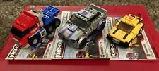 KRE-O 2 in 1 TRANSFORMERS Optimus Prime Bumblebee Autobot Jazz 3 COMPLETE SETS
