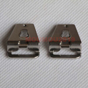2Pcs Silver Lugs Strap Belt Adapter Clips Fit For Mamiya RB67 RZ67 Pro SD Camera