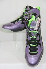 New Nike Jordan Melo M9 Blacklight Basketball Shoes Purple Men Size 11 $125