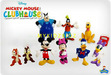 New Disney MICKEY MOUSE CLUB HOUSE Cake Toppers / 10 Figures
