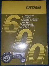 Fiat Traktor Serie 600 Ersatzteilkatalog