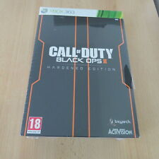 XBOX 360  Call Of Duty Black Ops 2 Hardened Edition - Steelbook Box Set new