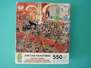Jan Van Haasteren St.George and the Dragon Artwork Ceaco 550 Piece Jigsaw Puzzle