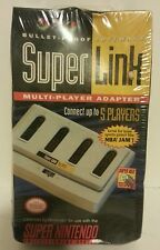NEW-Original Nintendo SNES Super Link Multi-Player Adapter-up to 5 player-SEALED