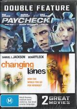 PAYCHECK & CHANGING LANES - BEN AFFLECK - REGION 4 DVD - FREE LOCAL POST