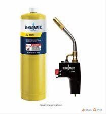 Bernzomatic Trigger Start Button Torch Kit Durable Aluminum Case Body Ts4000kc