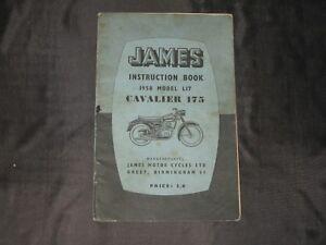 James Instruction Book, 1958 Model L17