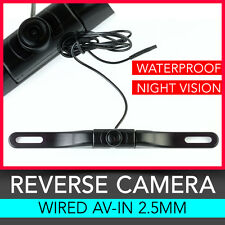 """Universal Wired Reverse Camera for 4.3"""" 5"""" 7"""" GPS with 2.5mm AV Input Jack"""