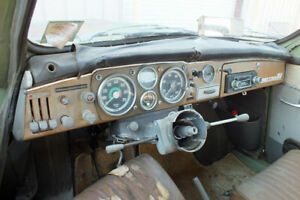 Vtg Saab 96 GT Monte Carlo 750 850 Dash Dashboard Gauges Complete Two Stroke Era