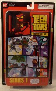 "Teen Titans Go! 1.5"" Robin Cyborg Comic Book Heroes Ser 1 Page 1 Raven Starfire"