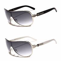 Classic Retro Vintage Men Women Fashion Aviator Sunglasses Shield Sports Glasses