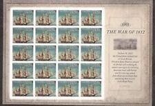 2012 #4703 The War of 1812: USS Constitution Pane of 20 MNH Regular Sheet