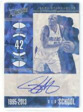 2017-18 Prestige Old School Signatures Crystal #6 Jerry Stackhouse  Autograph Ma