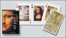 Art Paquete Conjunto De 52 Jugar Tarjetas + Bromistas ( Gib )
