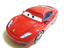 Mattel Disney Pixar Cars Red Metal Ferrari F430 Toy Car 1:55 Loose New In Stock