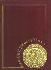 Concord High School Yearbook 1993 Concord, NH (Crimson)