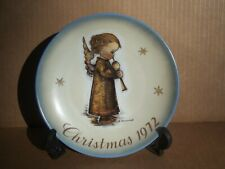 1972 Hummel Christmas Plate Limited Edition