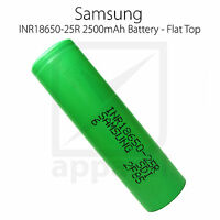 Samsung 25R | 2500mAh INR 18650 20A 30A High Drain LiMn Battery