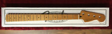 Fender Roasted Maple P Bass Neck 20 Medium Jumbo Frets 9.5&prime MN C Shape