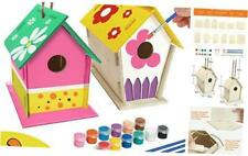 Crafts for Kids Ages 4-8 - 2Pack Diy Bird House Kit - Build and Paint Birdhouse