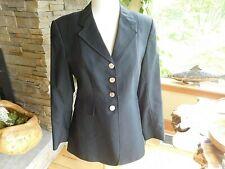 Grand Prix PROFI Dressage Show Coat 14 Slim Ladies US Size 8 Black Wool (EJ27)