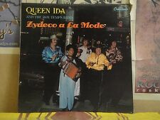 QUEEN IDA & HER BON TEMPS BAND, ZYDECO A LA MODE - LP GNPS 2112
