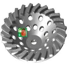 7 X24seg Spiral Turbo Abrasive Diamond Cup Wheel Concrete Grind 58 11threaded