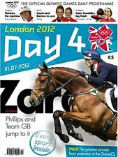 London 2012 Olympic Game Day 4 Daily Programme - Zara Phillips - Magazine