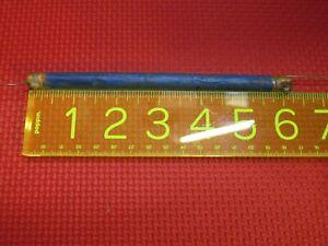 """Vintage Color TV Delay Line 6"""" 0.4"""" Diameter Reads 70 Ohms on Fluke 87 Fast Ship"""
