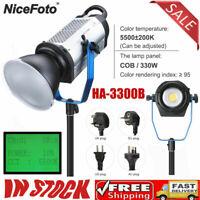 NiceFoto HA-3300B 330W COB New Professional Video Light Photography Accessories