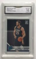 NICOLO MELLI 2019-20 Donruss Optic Rated Rookie Pelicans No 163 GMA 10 Gem Mint