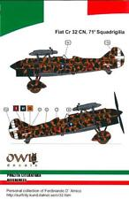 Owl Decals 1/48 FIAT CR-32 CN Italian Night Fighter 71 Squadriglia