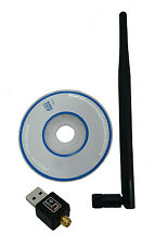 600 Mbps USB 802.11n WiFi Wireless Lan Network Card Adapter With Antenna
