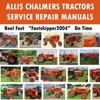 Allis Chalmers Tractors AC 8010 8030 8050 8060 Service Repair Workshop Manual CD