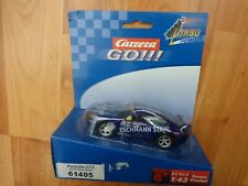 1/43 CARRERA GO 61405 PORSCHE GT3 #10 RALLY WRC SLOT CAR NEW SCALEXTRIC