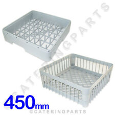 More details for 2 x 450 square dishwasher + glasswasher 450mm square pegged plate racks ime