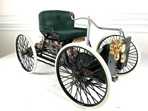 Franklin Mint 1896 Henry Ford 1st car Quadricycle 1:6 Scale~Orig Box & Paperwork