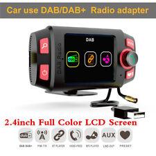 2.4in Car DAB DAB+ Radio Receiver Bluetooth FM Transmitter Hands-free MP3 Player