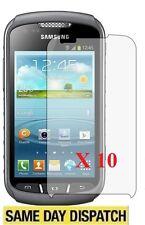 10 X Samsung S7710 Galaxy Xcover 2 Antiriflesso Opaca Protezioni Dello Schermo Cover Pellicola