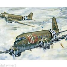Trumpeter 02828 1/48 Scale American C-47A Skytrain Transport Aircraft Model