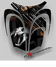 Arctic Cat ZR 600, 500, 800 Mountain 00-06 Graphics Decal Sticker Skull Hood Orn