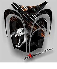 Arctic Cat ZR 600, 500, 800 Mountain 00-06 Graphics Decal Sticker Skull Hood Orn